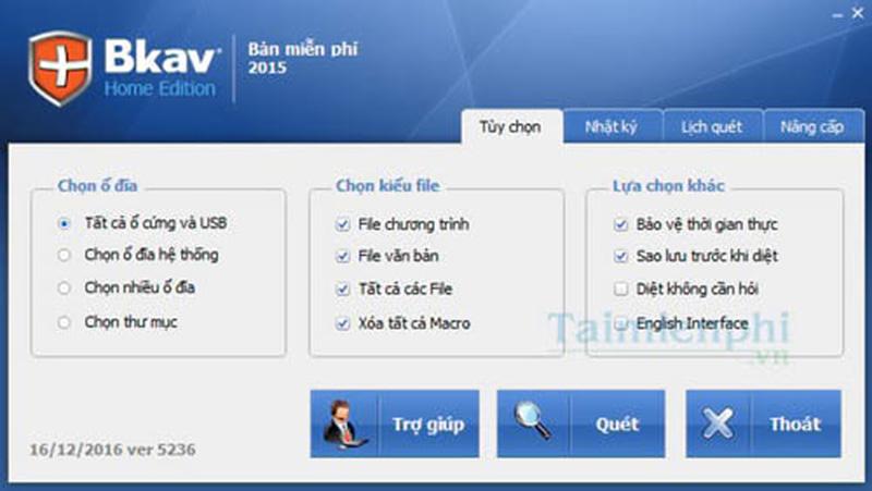 Phần mềm BKAV Home edition