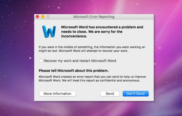 """Lỗi khi in file excel """"Microsoft Excel has Encountered a problem and needs to close"""